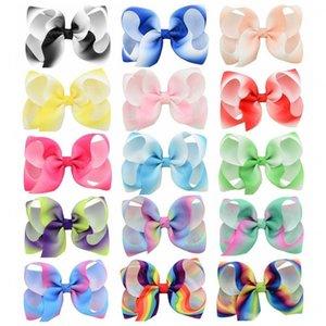 Fashion Cute Bow Hair Clip per neonate Colorful HairClips Tairspins Barrettes Bambino Bambini Capezzali Accessori