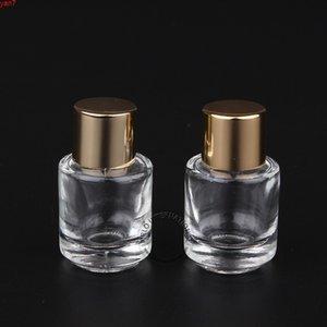 20pcs lot Promotion 3ml Parfume Glass Bottle Gold Cap Refillable Pot Mini Perfume Container Essential Oil Vialgoods