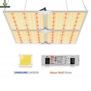 Full Spectrum Samsung LED Plant Grow Light 1000W 2000W 4000W 6000W 3000K + 5000K + 660nm + IR regulable con el controlador Meenwell