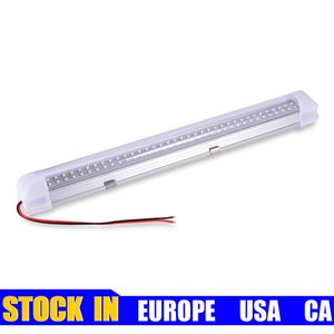 LED Tube 12V Low Voltage Tubes Compartment Light 1Ft T8 Tubess Lights 6000K Lighting Stock in USA CA EUROPE