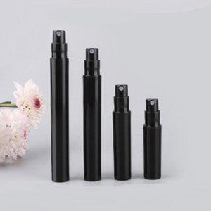 2ml 3ml 4ml 5ml black plastic perfume sample bottles with spray pump pen spray bottle mini Perfume Vials