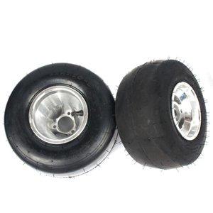 Лицевая шина передней шины 10x4.50-5 сзади 11x7.10-5 с 5-дюймовым алюминиевым сплавом Hub для Go Kart ATV UTV Buggy мотоциклетные колеса