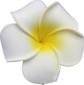 100 قطع 7 سنتيمتر بالجملة بلوميريا هاواي رغوة فرانجيباني زهرة لحفل زفاف الشعر كليب زهرة jlloim محظوظ 680 S2
