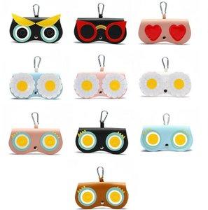 Gläser Tasche Süßigkeiten Farbe Sonnenbrille Aufbewahrungstaschen Niedlichen Cartoon Multifunktionsbrillen Fall Frauen Sonnenbrille Schutz Schultasche GWC7488