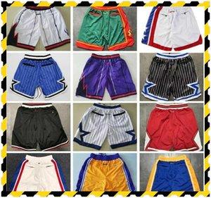 Short de basket College Wears morant Throwback just do Wade Hardaway Iverson Carter pockets mitchell ness Pantalones de baloncesto jerseys