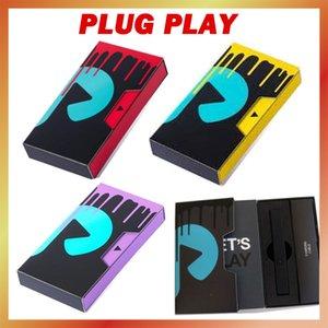 최신 포장 플러그 재생 포드 배터리 빨간색 노란색 보라색 검은 실버 500mAh 배터리 vape 펜 시스템 장치 스위트 1.0ml 빈 exotics 510 두꺼운 오일 카트리지