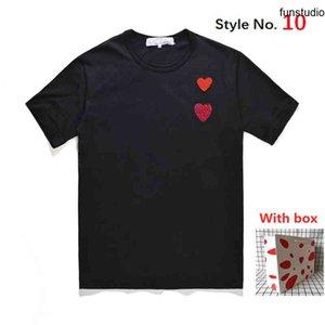 Yüksek Kaliteli Kadın T Gömlek Serin Baskılı Erkekler T Shir Kısa Kollu Tee Gömlek Giyim Nefes Ve Ter-emici Etiketli Kutu Tops