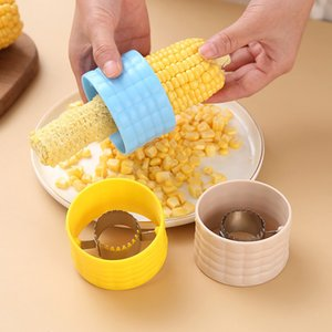 Household Corn Threshing Machine Gadgets Pure Color Corns Separator Kitchen Practical Accessories Multicolor Arrival with ship J3TO K7D4
