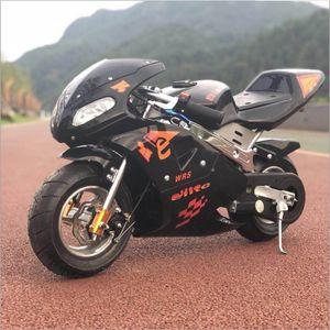 motorcycle, small locomotive, mini sports car, 49cc gasoline engine