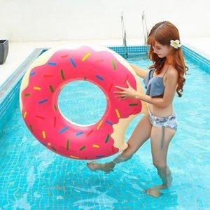 Yüzme Halkası Şamandıra Yüzer Yatak Kalınlaşmış PVC Yaz Şamandıra Oyuncak Daire Açık Hava Etkinlikleri Şişme