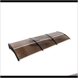 Shade 300X100Cm Household Application Door Window Rain Cover Domestic Eaves Canopy Rainproof And Sun Visor Black Holder Dnlya Snlww