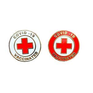 Novelty Games epidemic prevention commemorative brooch Needle, vaccination commemoratives logo badge