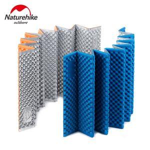 Naturehike Outdoor Camping Cushion Sleeping Mat Ultralight Moistureproof Pad Equipment Folding Egg Slot Yoga Blue Pads