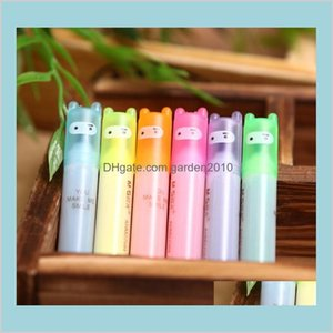 Highlighters Writing Supplies Office & School Business Industrial Rabbit Mini Highlighter Pen Marker Pens Kawaii Stationery Material E