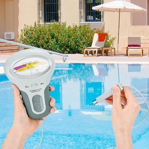 2 in 1 Meter PC-101 PH Tester Chlorine Water Quality Testing Device Tools For Pool Aquarium Portable