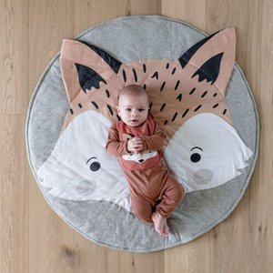 Cartoon Animal Style Baby Toys Play Mats Infant Baby Photo Props Background Rug For Newborn Baby Room Decoration Carpets 210401