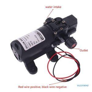 Air Pumps & Accessories DC 12V 130PSI 6L Min Water High Pressure Diaphragm Self Priming Pump 70W