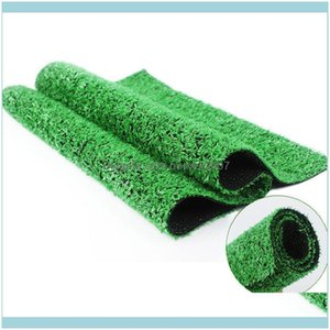 Decorations Patio, Lawn & Gardenhome Floor 100Cm*100Cm Grass Mat Wedding Decoration Green Artificial Lawns Small Turf Carpets Fake Sod Home