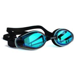 Professional Waterproof Adult Anti-fog UV Protection Men Women Swimming Glasses Lens Adjustable Silicone Swim Goggles