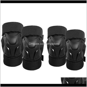 Safety Athletic Outdoor As Sports & Outdoors Motorcycle Racing Motocross Pads Cycling Knee Protector Caps Brace Elbow Guards For Adults   Kid