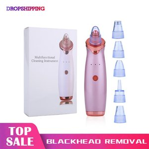 Blackhead Remover Nose Vacuum Suction Tool Facial Diamond Dermabrasion Device Zone Pore Acne Pimple Removal Face Clean
