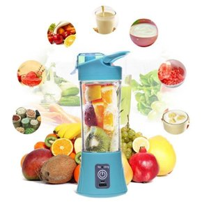 380ml USB Rechargeable Mixer Portable Mini Juicer Machine Smoothie Maker Household Small Juice Extractor gift with box TPHK