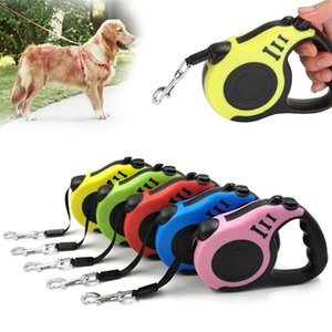 Dog Collars & Leashes 3M 5M Durable Leash Automatic Retractable Nylon Cat Lead Extension Puppy Walking Running Roulette For Dogs