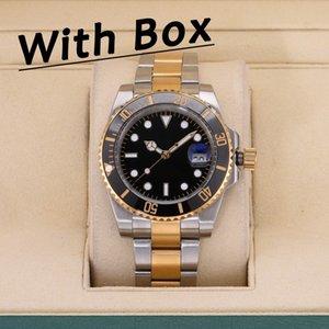 U1 AAA + качественные керамические BEZEL MENS Часы автоматические Механические 2813 Часы Движения Светостойкий Сапфир Водонепроницаемый Спорт Саморатура Модные наручные часы Подарок