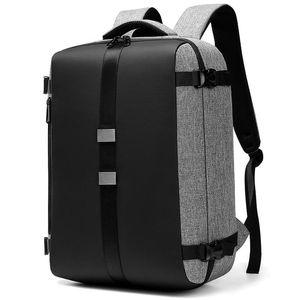 Backpack Men's Multifunctional Travel Bag Men For 15.6 Inch Laptop Computer Backpacks Anti Theft Waterproof Mochila