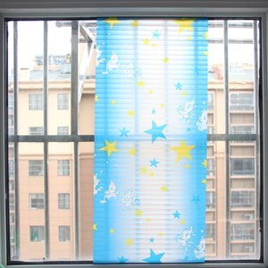 Self Adhesive Glass Paster Frosted Transparent Opaque Window Bathroom Cellophane Sliding Door