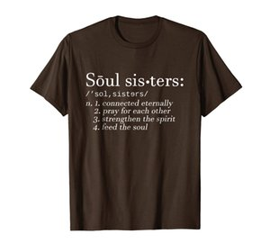 Soul Sisters Definition Camiseta Hermanas linda pareja tee