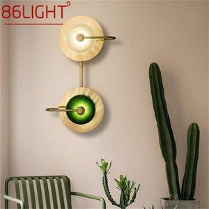 Wall Lamps 86LIGHT Indoor Light Sconces LED Modern Creative Design Fixtures Decorative For Home Bedroom
