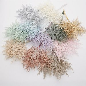10pcs bundle Plant Grass Artificial Flowers DIY Wreath Material Christmas Wedding Flower Decoration Artificial Dried Flower