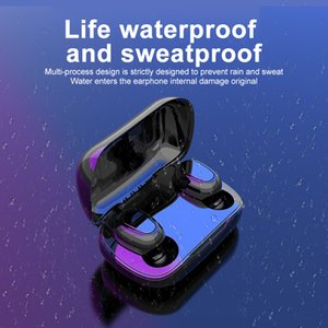 Bluetooth Earphones Headset 5.0 TWS L21 Pro Stereo Wireless Earbuds Headphones Holographic Sound Android IOS IPX5 Sweatproof 1 Pair