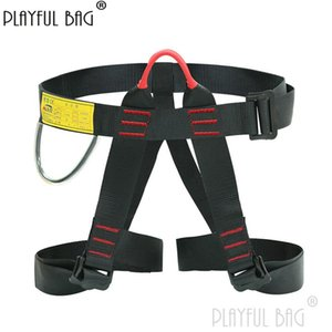Cords, Slings And Webbing PB Playful Bag Seated Half-body Downhill Safety Belt Outdoor Climbing Rock Equipment High Altitude Protection ZL12