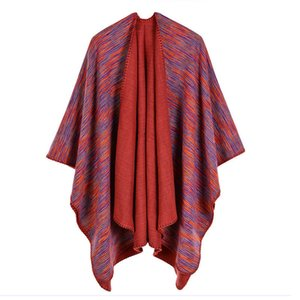 Luxury Brand scarves shawls Lady Autumn Winter New Fashion Wraps Imitation Cashmere Shawls Wholesale Classic Gradient Pa