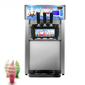 Ticari Tatlı Koni Yumuşak Dondurma Makinesi Tam Otomatik