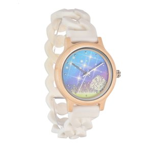 Watches 2021 Quartz Pastoral Ladies Fashion Trend Luminous Wood Watch