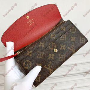Designer Wallet Luxury Brand Purse Single Zipper Wallets Women HandBags Tote Real Leather Bags Lady Plaid Purses Duffle Luggage by fenhongbag 01