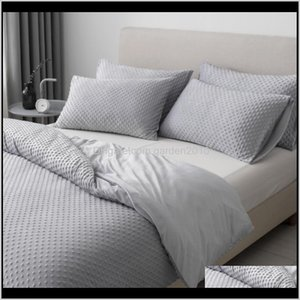 King Bedding Sets Comforters Quilt White Duvet Cover Set Double Bed Ab82# Sn2Wb Rgugn