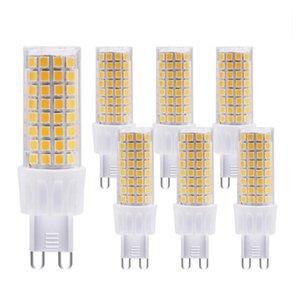 Bulbs G9 LED BULB AC220V 86LEDS 2835 Light Lamp Chandelier Replace 100W Halogen Lighting