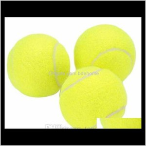 Balls Racquet Sports & Outdoors Drop Delivery 2021 Training Standard Rubber Good Bounce 1Dot3 Meters Durable Tennis Playing Official Neon Yel