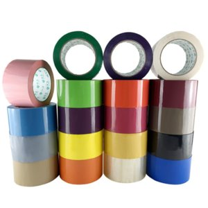 1 Roll 6cmx90m Colorful Transparent Tape Paper Box Sealing Tape Courier Packing Tape 19 Colors