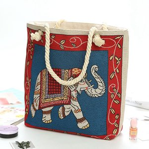 Household Sundries Women Luxurys Designers Bags 2021 Shopping Handbags European Luxury Design Bag Lady & Woman Handbag Purses Elephant Pattern 40*46cm