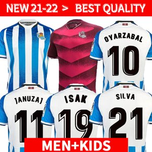 Real Sociedad 2021 2022 Soccer Jersey COPA DEL REY third OYARZABAL X PRIETO PORTU 3rd DAVID SILVA ODEGAARD JUANMI 21 22 camiseta de futbol Football Shirt