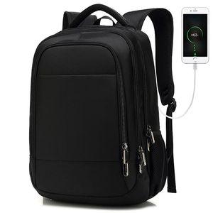 Backpack School Bag Business Travel Business Computer Computer USB Зарядка Водонепроницаемый