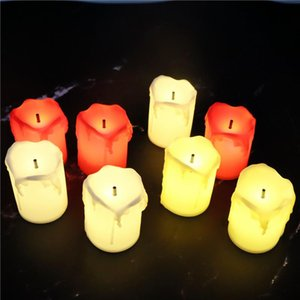 Candles Luxury Christmas Cute Candle Electric Led Romantic Wedding Designer Lume Di Candela Home Decoration 50LZ