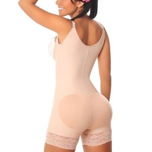 Women's Fashion Underbust Full Body Shaper Underbust BuLift Shapewear Bodysuits Waist Trainer Tummy Control Slimming Panties1
