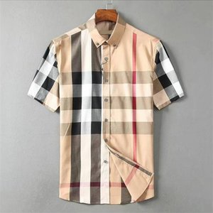 2021 luxury designer men's shirts fashion casual business social and cocktail shirt brand Spring Autumn slimming the most fashionable clothing M-3XL#21