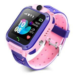 Children's smart watch SOS anti-lost smartwatch 2G SIM card clock phone location tracking photo waterproof IP67 children's gift
